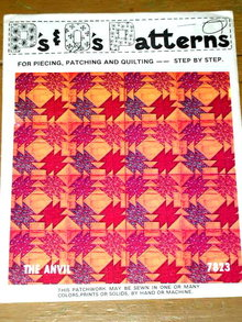 The Anvil Quilt Pattern  -  PTB
