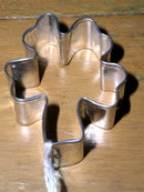 Tin Cookie Cutter, Shamrock