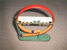 Shoot-A-Loop Tin Toy Marble Game