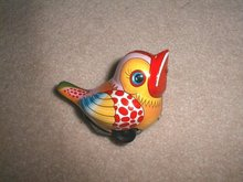 Tin Bird Toy