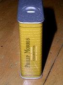 Phillip Morris Metal Cigarette Tin