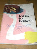 Learn to Bake Cookbook  -  CK