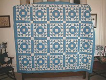 1920's Indian Wedding Ring Quilt -  QLT