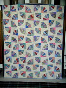 1930's Grandmother's Fan Quilt -  QLT