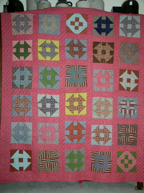 Shoo Fly Quilt, 1860/1880's -  QLT
