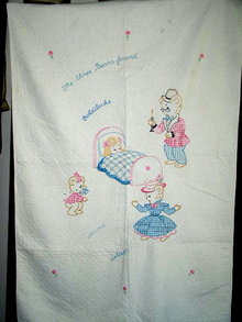 Goldilocks Crib Quilt -  QLT