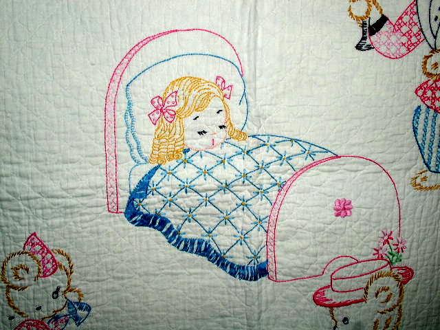 Goldilocks Crib Quilt -  QLT