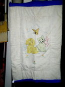 Dog and Cat Crib Quilt -  QLT
