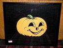 Halloween Diecut Beistle Jack-o-Lantern