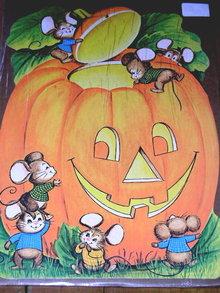 Halloween Diecut Eureka Jack-o-Lantern