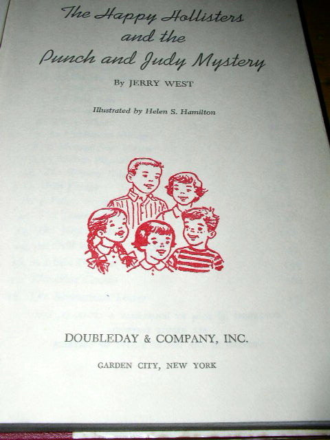Happy Hollisters and the Punch and Judy Mystery Book
