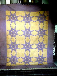 Feathered Star Quilt -  QLT