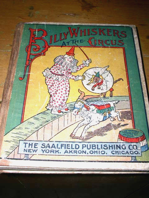 Billy Whiskers at the Circus Book
