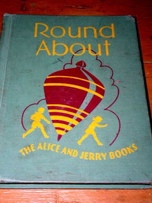 Round About Children's Reader, Alice and Jerry Book