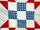 Snowball Pattern Quilt  Top, 1880's -  QTP