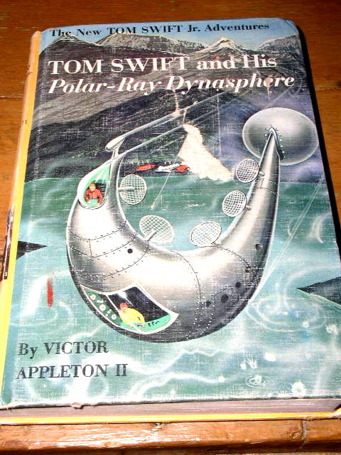 Tom Swift  and His Polar-Ray Dynasphere Book