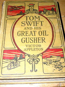 Tom Swift and His Great Oil Gusher Book