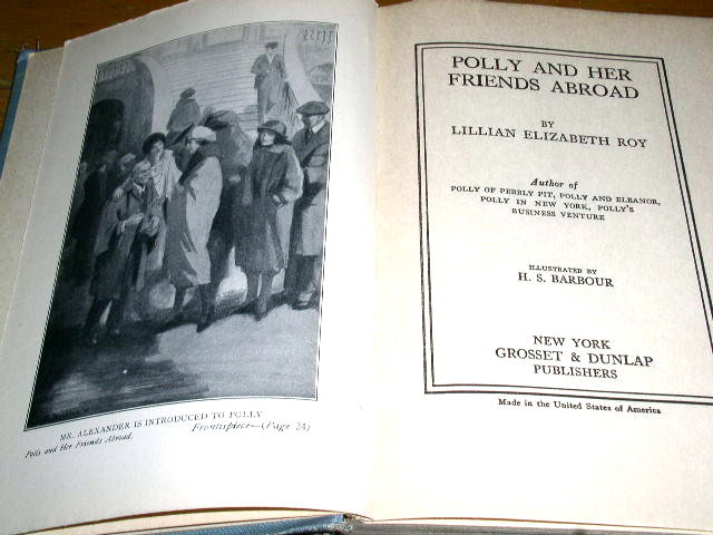 Polly and Her Friends Abroad Book