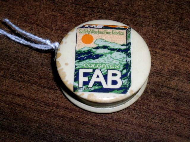 Fab Colgate Celluloid Tape Measure