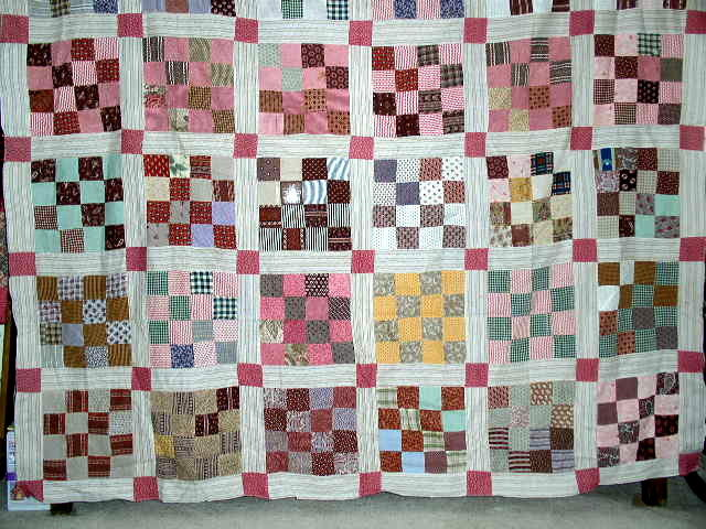 16 Patch Quilt Top -  QTP