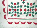 Rose Wreath Applique Quilt -  QLT