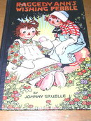 Raggedy Ann's Wishing Pebble Book