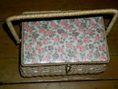 Dritz Wicker Sewing Box