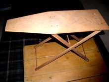 Child's Wooden Ironing Board