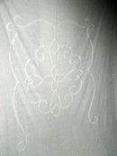 Chenille Bedspread, Twin, White