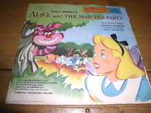 Alice and The Mad Tea Party,  78RPM, Child's Record
