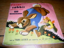 Peter Rabbit and Other Tales, 78RPM, Child's Record
