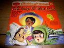 Folk Songs of Other Lands, 78RPM, Child's Record