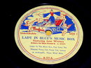 Lady in Blue's Music Box, 78RPM, Child's Record