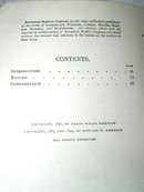 Emerson's Nature and Compensation Book