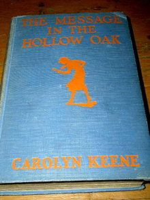 Nancy Drew - The Message in the Hollow Oak Book