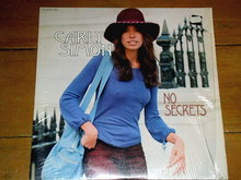 Carly Simon - No Secrets - 33 Record Album