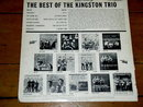 The Best of The Kingston Trio  - 33 Record Album