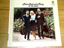 Peter, Paul and Mary - In The Wind - 33 Record Album
