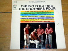 The Brothers Four, The Big Folk Hits,  33 Record Album