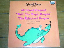 All About Dragons, Walt Disney Children's 33 Record Album