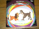 Lady and the Tramp,  Walt Disney Children's 33 Record Album