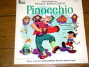 Pinocchio,  Walt Disney Children's 33 Record Album