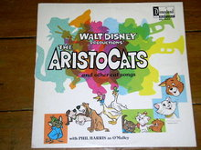 The Aristocats,  Walt Disney Children's 33 Record Album