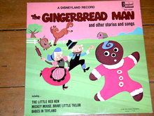 The Gingerbread Man,  Walt Disney Children's 33 Record Album