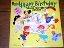 Happy Birthday,  Walt Disney Children's 33 Record Album
