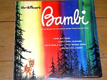 Bambi,  Walt Disney Children's 33 Record Album