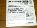 A Golden Treasury Of Nursery Rhymes, Children's 33 Record Album