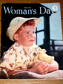 Woman's Day Magazine,  April 1950,  -  MZ
