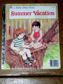 Summer Vacation,  Little Golden Book