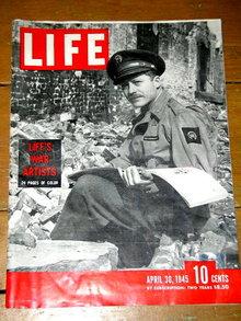 Life Magazine April 30, 1945  -   MZ